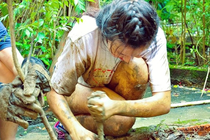 Realising my love for mud and dirt